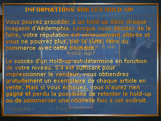infos sur le hold up
